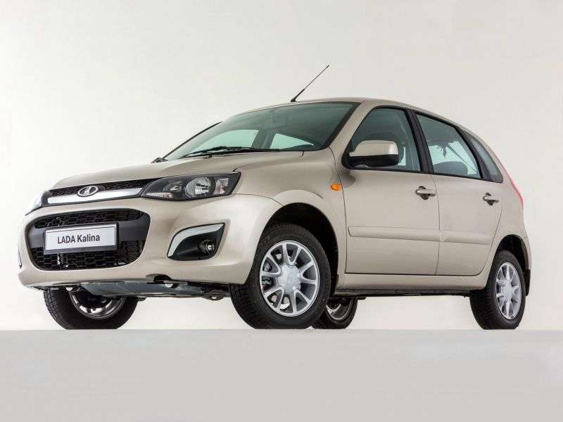 VAZ (Lada) Kalina 2nd generation hatchback 1.6 AT 16kl 21922 42 013 Suite (2012 – n.)