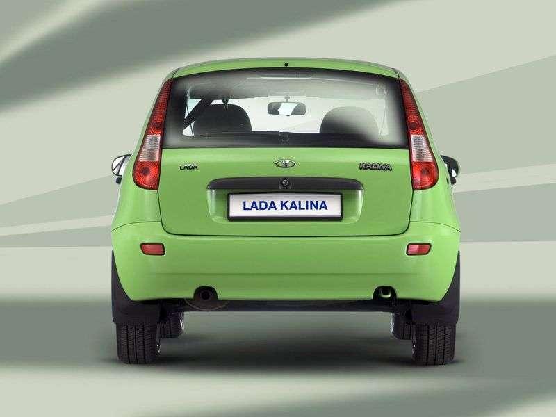 VAZ (Lada) Kalina 1st generation 1119 hatchback 5 bit. 1.6 MT 8 cells (Euro 4) 11193 41 040 Standard (2012) (2011–2013)