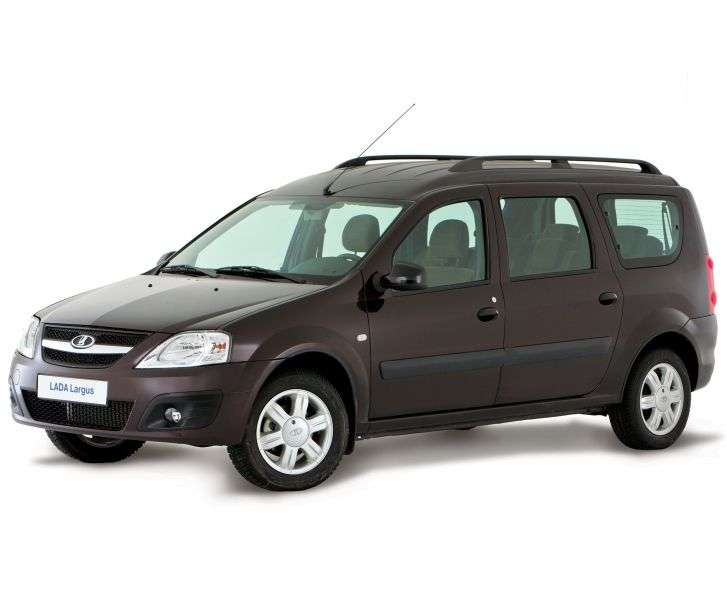 VAZ (Lada) Largus 1st generation station wagon 1.6 MT 8 cl (7 seats) RS015 41 01A Norma (2012) (2012 – current century)