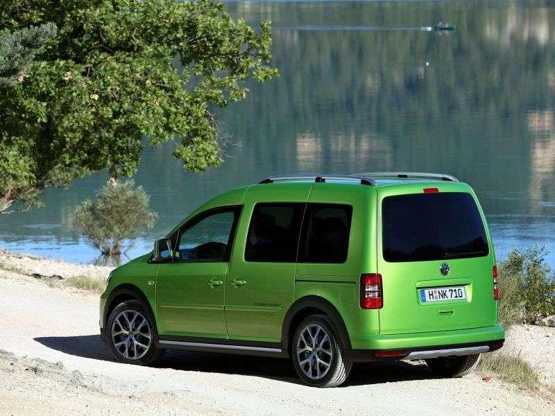 Volkswagen Caddy 3rd generation [restyling] Cross 4 door minivan 1.2 TSI MT Basic (2013 – present)