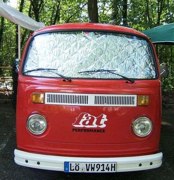 Volkswagen Transporter T2 [restyling] van 2.0 MT (1975–1979)