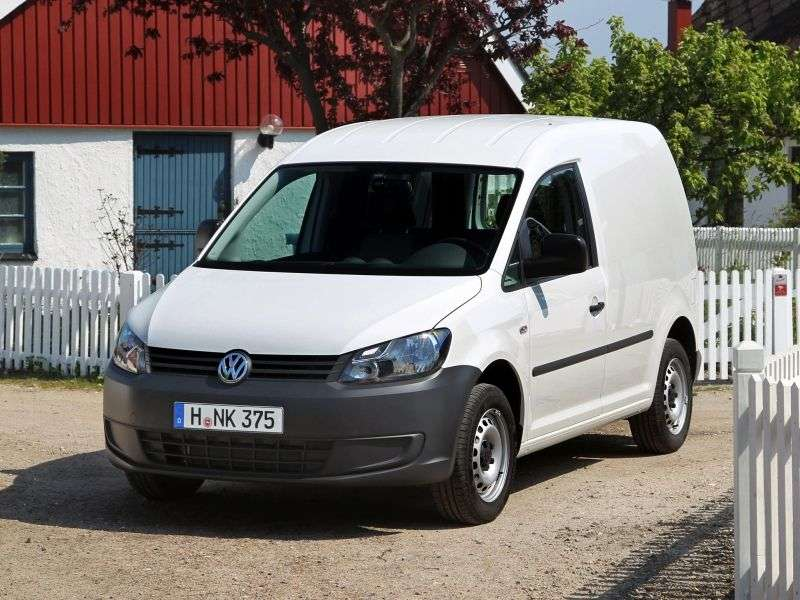 Volkswagen Caddy 3rd generation [restyling] Kasten van 4 dv. 2.0 TDI DSG 4Motion L2 Basic (2010 – current century)