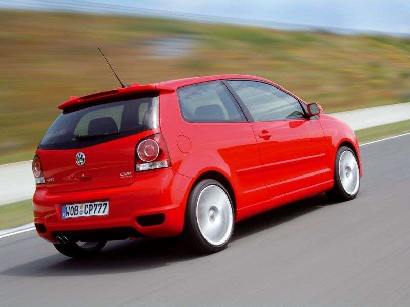 Volkswagen Polo 4th generation [restyling] GTI Cup Edition 3 bit hatchback 1.8 MT GTI (2005–2009)