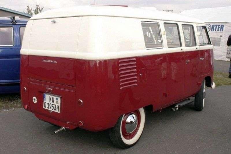 Volkswagen Transporter T1 minibus 3 dv. 1.2 MT (1950–1963)