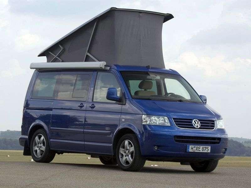 Volkswagen California T5D minibus 2.5 TDI AT H1 (2003–2009)