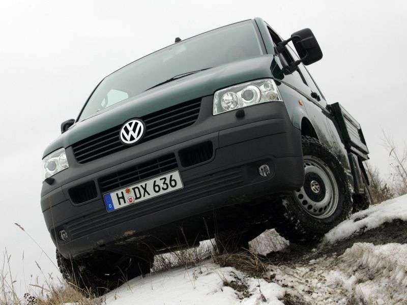 Volkswagen Transporter T5Double Cab pick up 4 dv. 2.5 TDI LWB L2H2 MT (2004–2009)