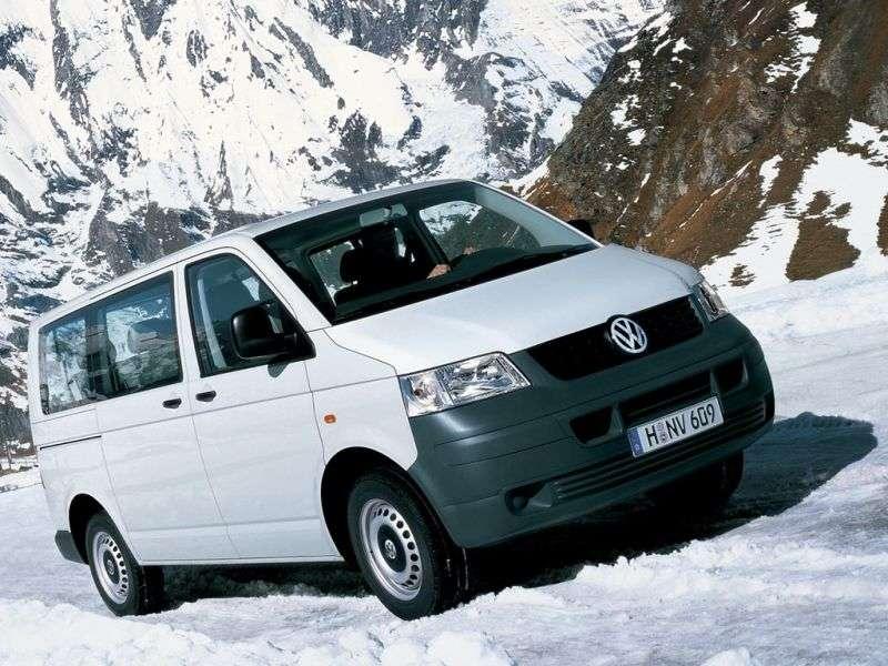 Volkswagen Transporter T5 Minibus 2.0 LWB L2H3 MT (2003–2009)