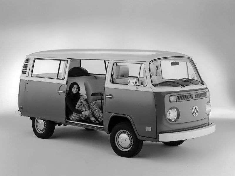 Volkswagen Transporter T2 [restyling] 1.7 AT minibus (1971–1979)
