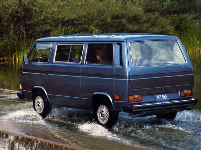 Volkswagen Transporter T3 [restyling] Minibus 1.6 D MT (1982–1987)