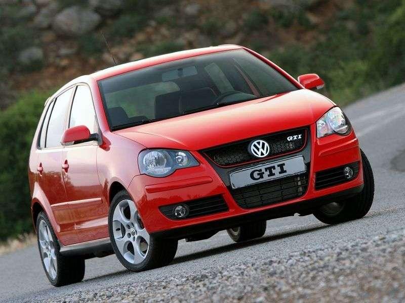 Volkswagen Polo 4 generation [restyling] GTI hatchback 5 dv. 1.8 MT GTI (2005–2009)