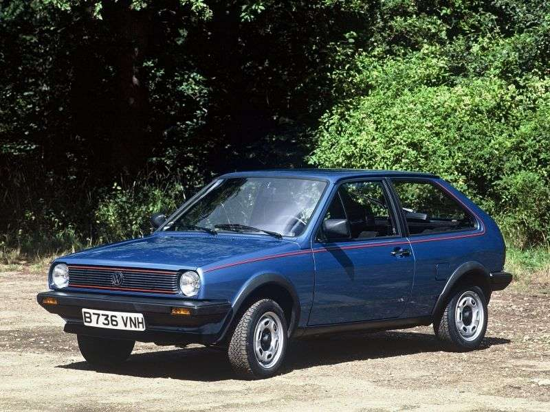 Volkswagen Polo 2nd generation hatchback 1.0 MT (1983–1990)