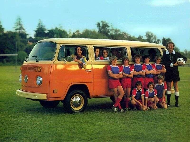 Volkswagen Transporter T2 [restyling] Minibus 1.8 MT (1973–1979)