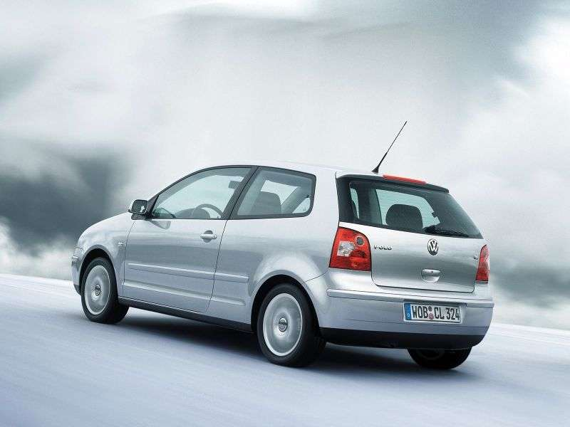 Volkswagen Polo 4 generation hatchback 3 dv. 1.4 TDI MT (2001–2005)