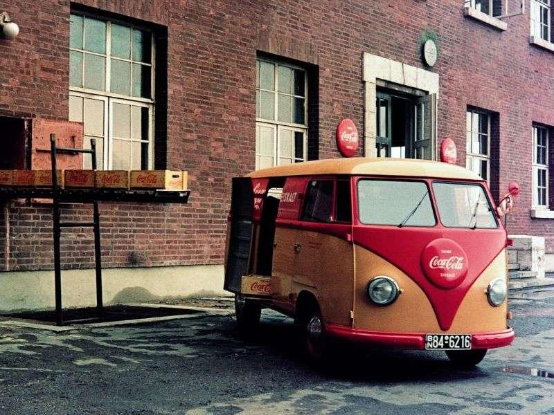 Volkswagen Transporter T1 van 1.1 MT (1950–1967)