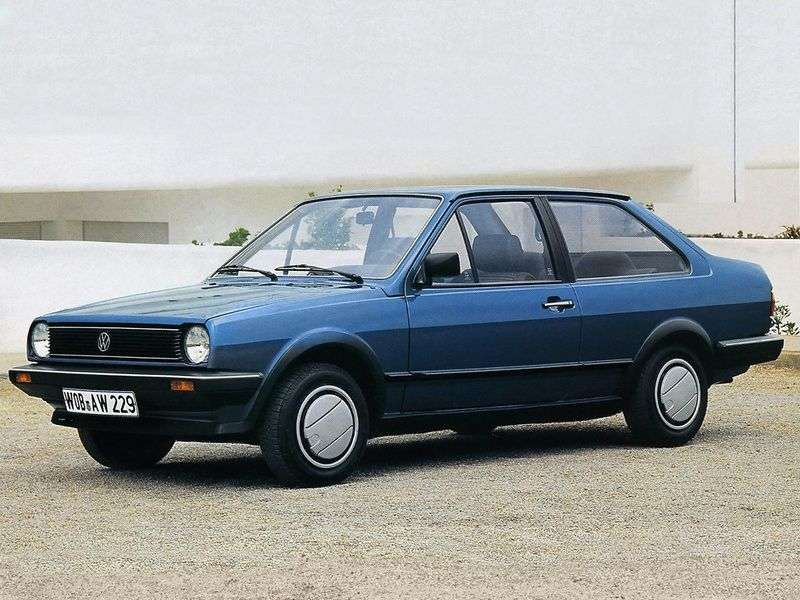 Volkswagen Polo 2nd generation sedan 1.3 MT (1983–1990)