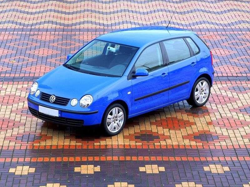 Volkswagen Polo 4 generation hatchback 5 dv. 1.2 MT (2001–2005)