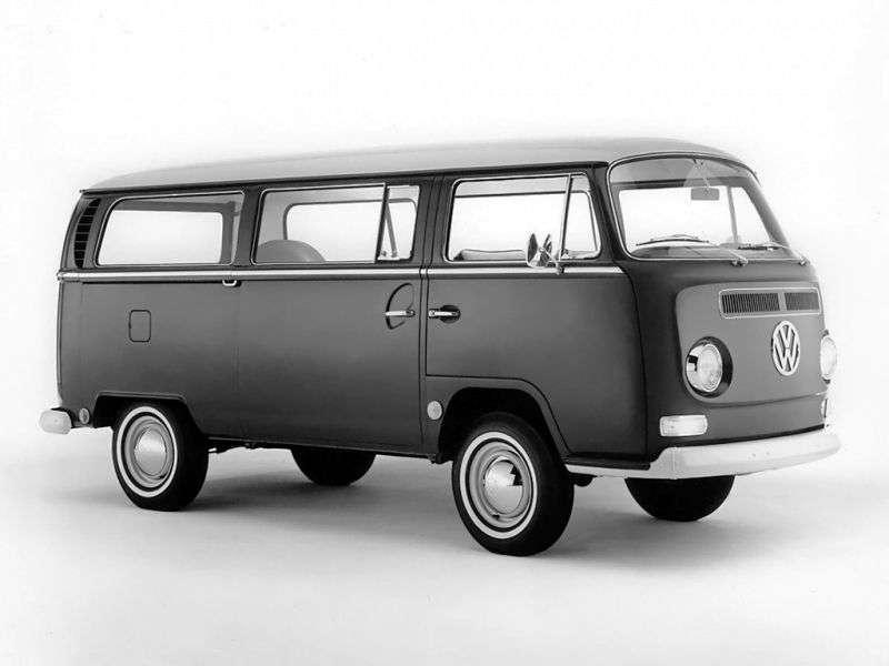 Volkswagen Transporter T2 Minibus 1.6 MT (1967–1970)