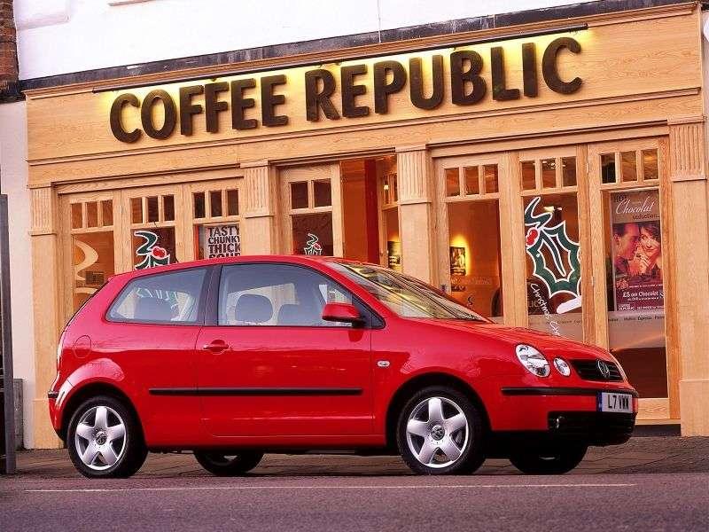 Volkswagen Polo 4 generation hatchback 3 dv. 1.4 AT (2001–2005)