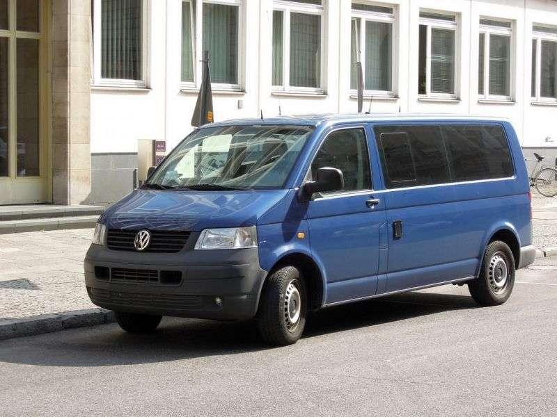 Volkswagen Transporter T5Minibus 2.5 TDI AT Kombi (2003–2008)