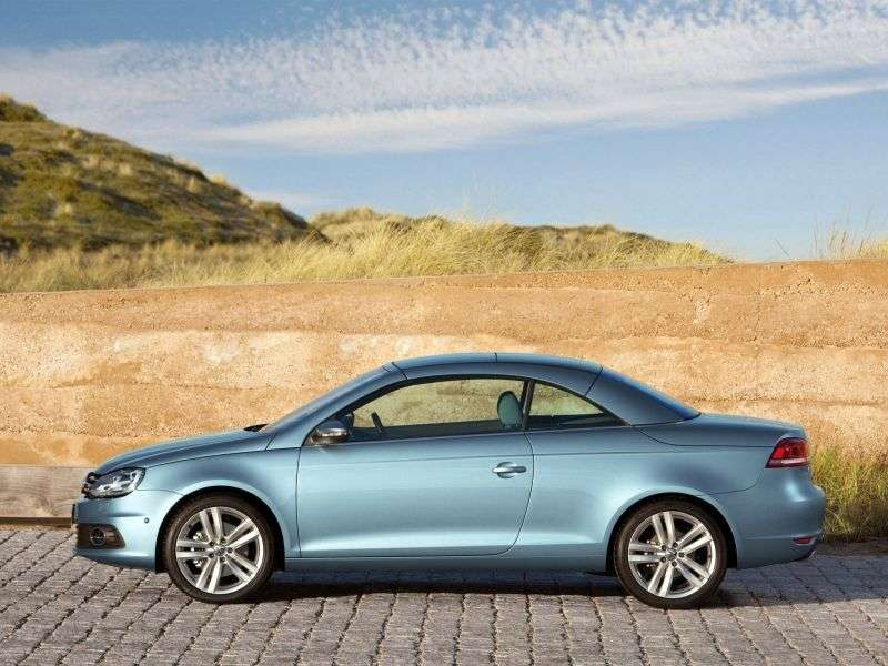 Volkswagen Eos 1st generation [restyling] 2.0 TDI BlueMotion MT convertible (2010 – n.)