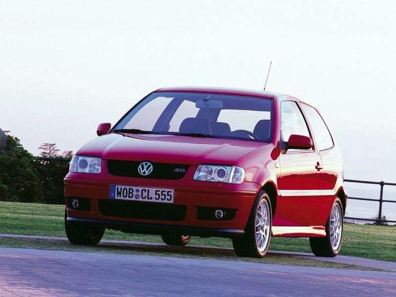Volkswagen Polo 3rd generation [restyling] 3 bit hatchback 1.6 MT 16V GTI (2000–2002)