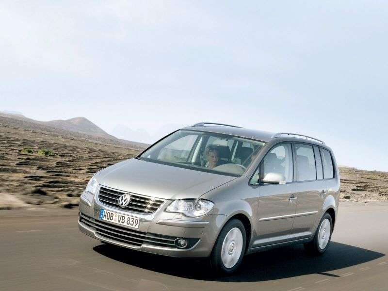 Volkswagen Touran 2nd generation minivan 5 dv. 2.0 TDI MT (2006–2010)