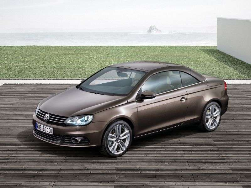 Volkswagen Eos 1st generation [restyling] 1.4 TSI BlueMotion MT convertible (2010 – n.)