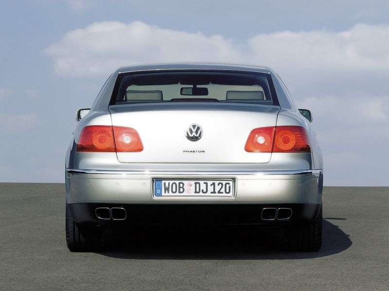 Volkswagen Phaeton 1st generation sedan 5.0 TD L 4Motion AT (2003–2006)