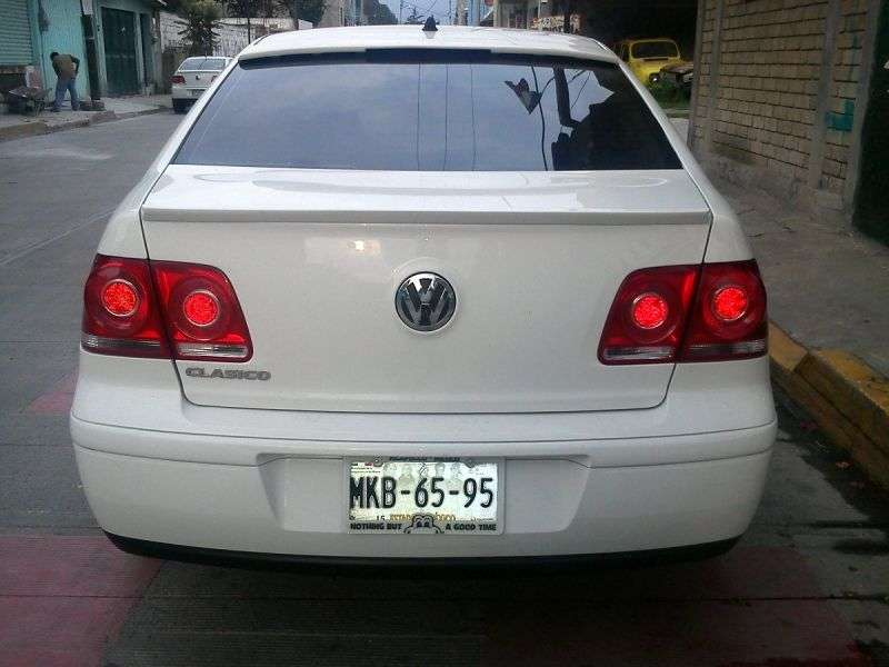 Volkswagen Clasico 1st generation 2.0 Tiptronic sedan (2011 – n. In.)