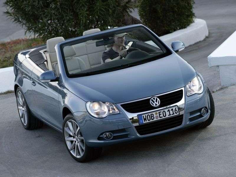 Volkswagen Eos 1st generation convertible 2.0 TDI MT (2006–2008)