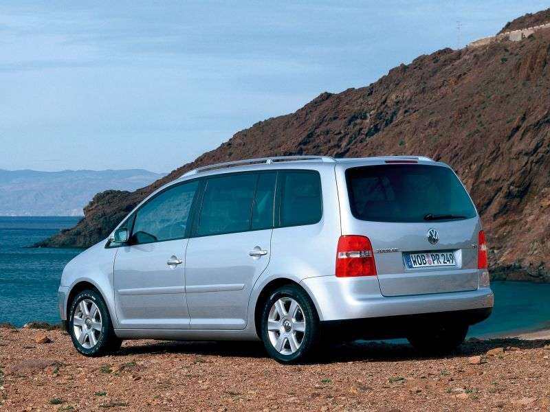 Volkswagen Touran 1st generation minivan 1.9 TDI AT (2003–2007)