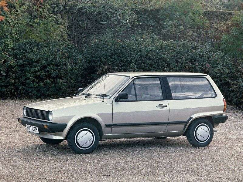 Volkswagen Polo 2nd generation wagon 1.1 MT (1981–1983)