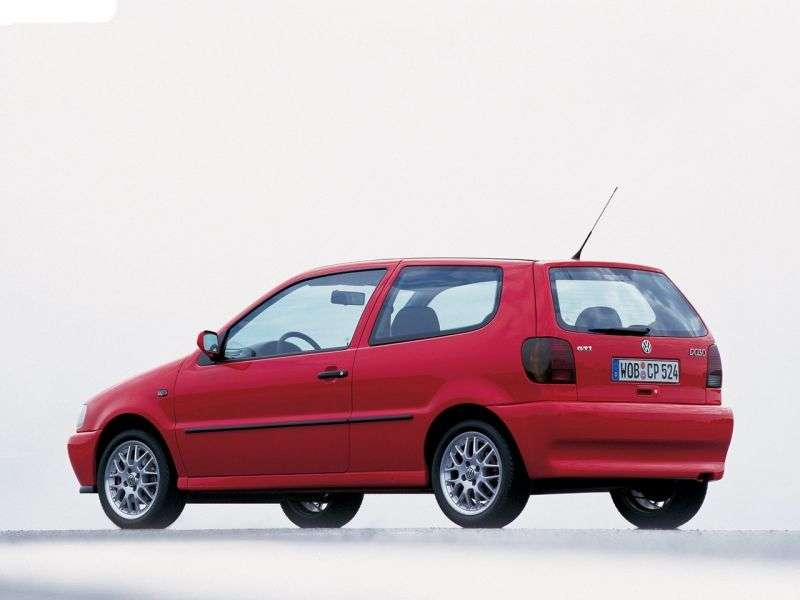Volkswagen Polo 3 generation hatchback 3 dv. 1.0 MT (1996–2001)