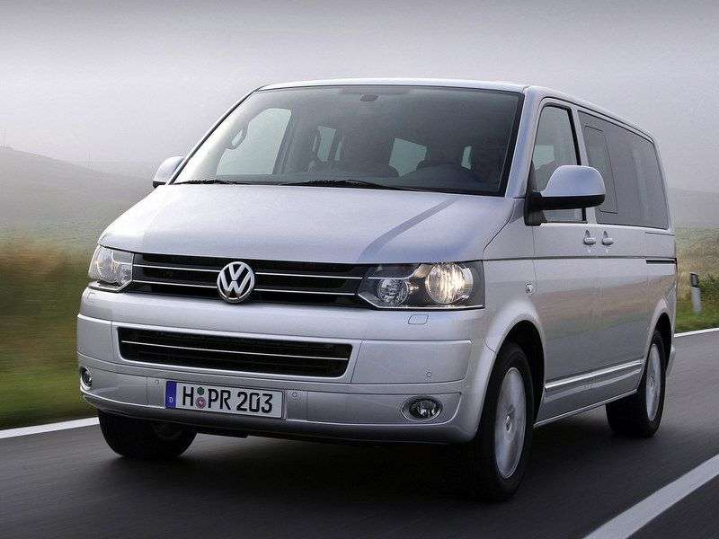 Volkswagen Caravelle T5 [restyling] Minibus 2.0 TSI DSG 4Motion L2 Comfortline (2011 – n.)