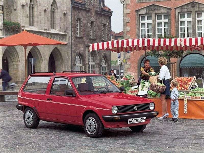 Volkswagen Polo 2nd generation wagon 1.3 D MT (1986–1990)