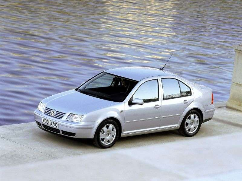 Volkswagen Bora 1st generation sedan 2.0 MT (1998–2004)