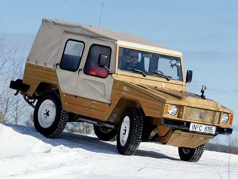 Volkswagen Iltis 1st generation 1.7 MT convertible (1978–1988)