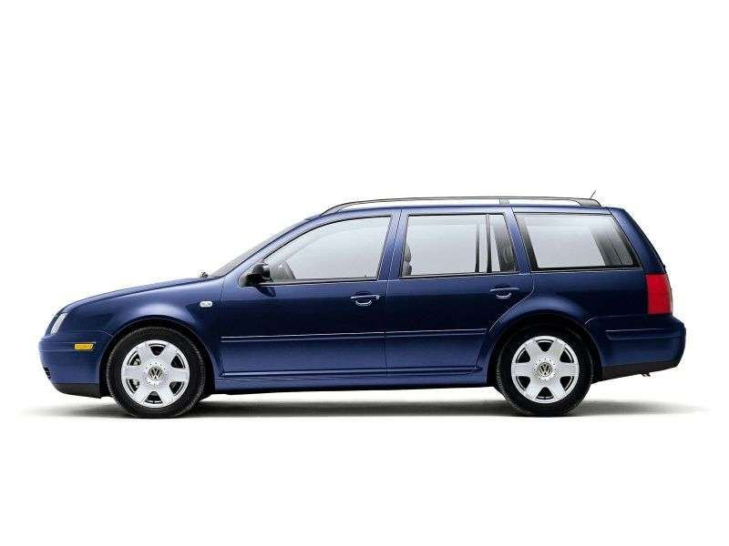 Volkswagen Bora 1st generation Variant wagon 2.3 V5 AT (1999–2000)