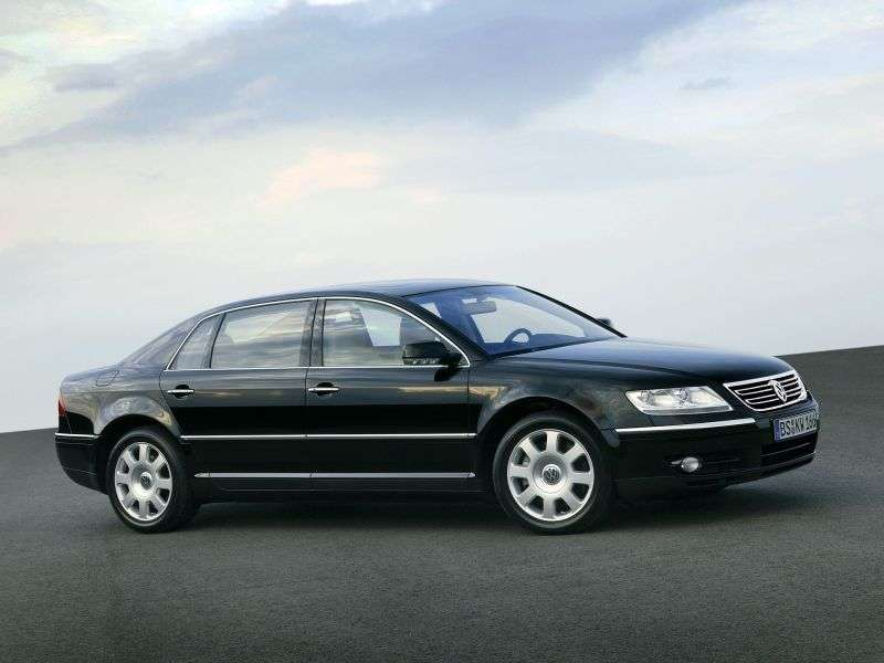 Volkswagen Phaeton 1st generation sedan 6.0 L 4Motion AT (2005–2007)