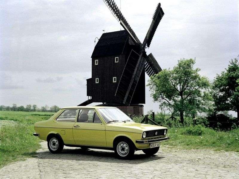 Volkswagen Derby 1st generation sedan 1.3 MT (1977–1981)