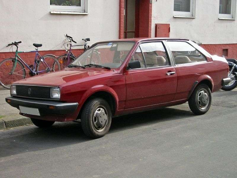 Volkswagen Derby 2nd generation 1.0 MT sedan (1981–1985)