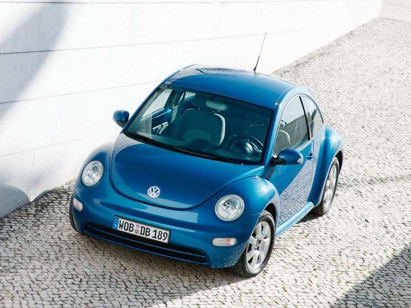 Volkswagen New Beetle 1st generation hatchback 3 dv. 2.0 AT (1999–2005)
