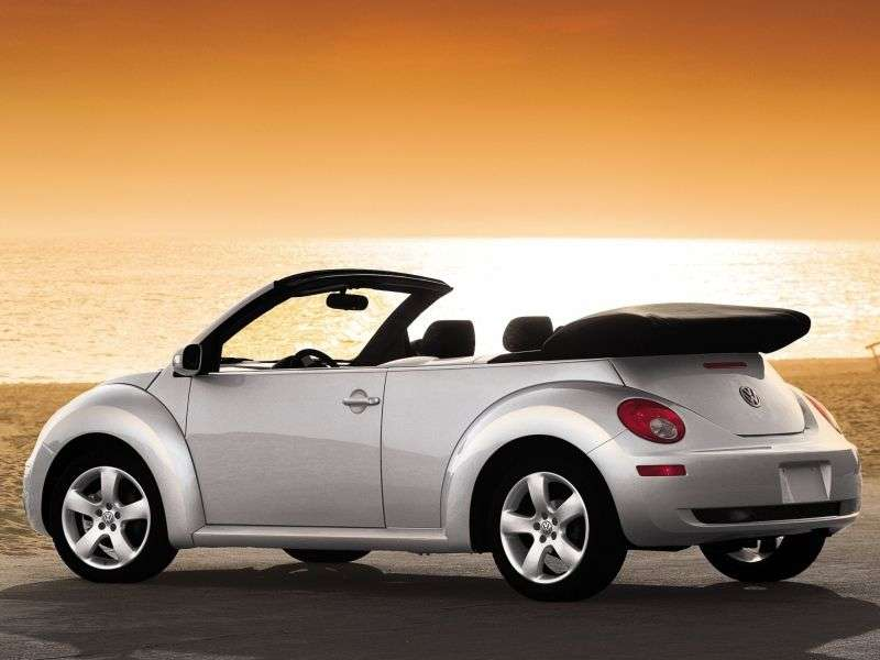Volkswagen New Beetle 1st generation [restyling] 2.0 MT convertible (2005–2010)