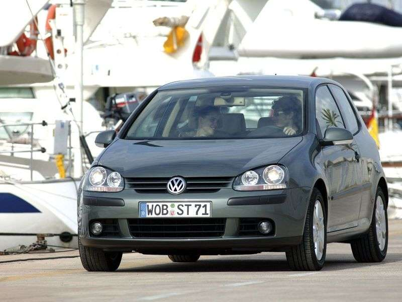 Volkswagen Golf 5 generation hatchback 3 dv. 2.0 FSI AT (2003–2008)