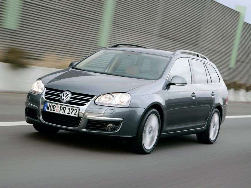 Volkswagen Golf 5th generation Variant 1.4 TSI MT station wagon (2007–2009)