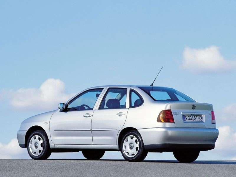 Volkswagen Polo 3rd generation Classic Sedan 1.6 MT (1996–1999)