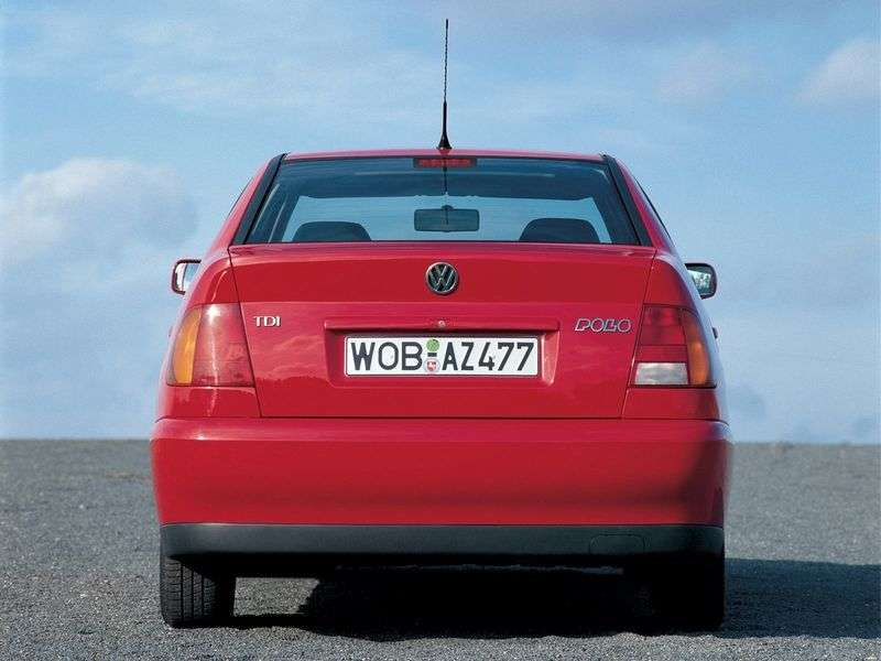 Volkswagen Polo 3rd generation Classic Sedan 1.9 D MT (1999–2001)