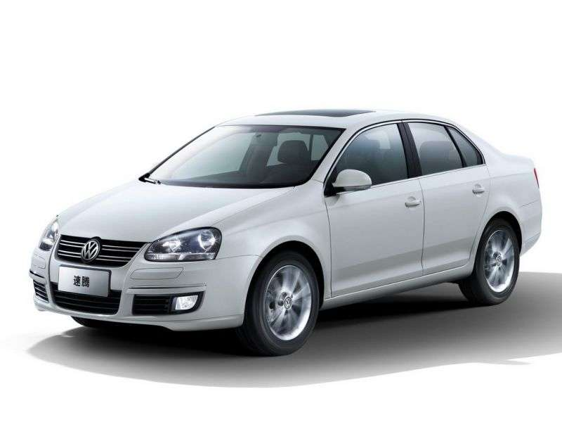 Volkswagen Sagitar 1st generation 1.4 TSI DSG sedan (2006–2012)