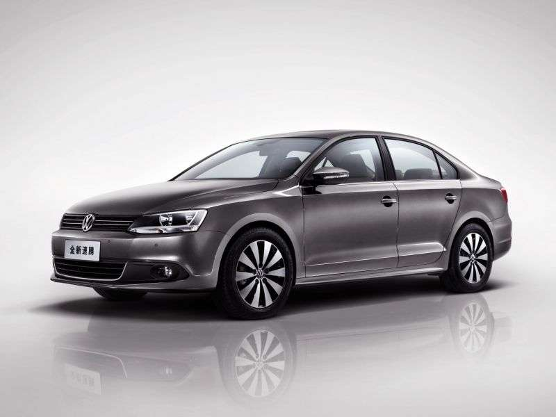 Volkswagen Sagitar 2nd generation 1.4 TSI MT sedan (2012 – n.)