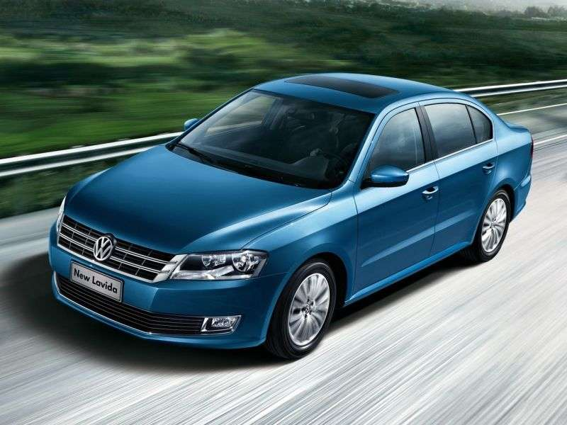 Volkswagen Lavida 2nd generation 1.4 TSI MT sedan (2012 – n.)